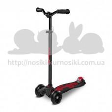 Самокат детский Micro Maxi Deluxe Pro Black Red MMD087