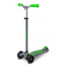 Самокат детский Micro Maxi Deluxe Pro Grey Green MMD089