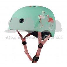 Шлем защитный детский Micro Flamingo M PC AC2124BX
