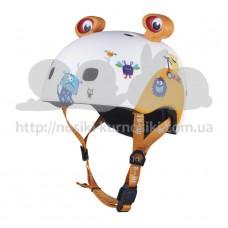 Шлем защитный детский Micro 3D Monsters S