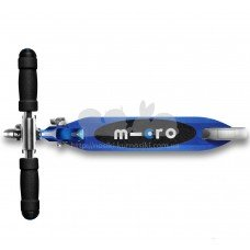 Самокат Micro Sprite Saphire blue Led колеса