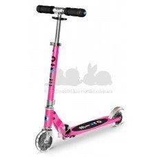 Самокат Micro Sprite Pink Led колеса