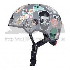 Шлем защитный детский Micro ABS sticker M 54-58 см