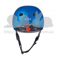 Шлем защитный детский Micro Darkblue metallic S