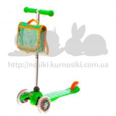 Самокат Mini Micro Green+bag