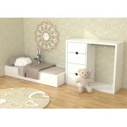 Кровать Монтессори 140х60 ДСП