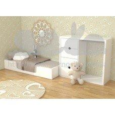 Кровать Монтессори 140х60 МДФ