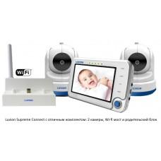 Видеоняня Luvion Supreme Connect с дополнительная камера и WiFi Мост