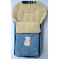 Зимний конверт на овчине N 6 excluzive Womar голубой