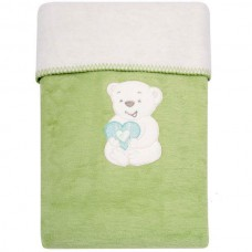 Одеяло-плед с вышивкой Womar розовый