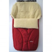 Зимний конверт на овчине N 25 Zaffiro Womar красный