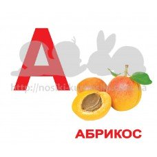 Комплект карточек Вундрекинд с пеленок Алфавит 34 шт русский