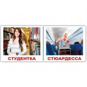 Карточки Домана Профессии двусторонние 80 фото мини 40 русск