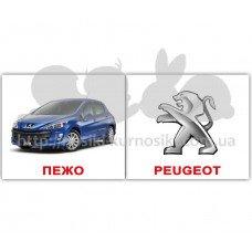 Карточки Домана Марки автомобілів мини 40 Укр