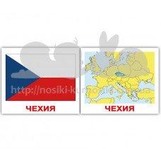 Карточки Домана Флаги Страны Столицы мини 40 русск