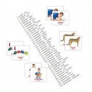 Мини карточки Домана англо-украинские Прикметники Adjectives 40 шт