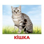 Комплект карточек Свійські тварини українскою мовою Вундеркинд с пеленок