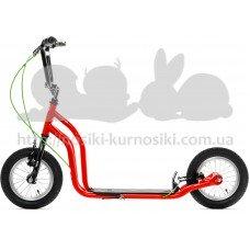 Самокат Yedoo OX New красный-черный