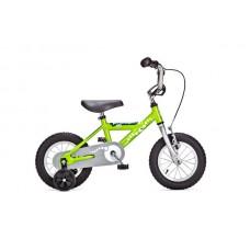 Детский двухколесный велосипед PIDAPI 12 Green рама алюминий Yedoo
