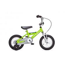 Детский двухколесный велосипед PIDAPI 12 Green рама сталь Yedoo