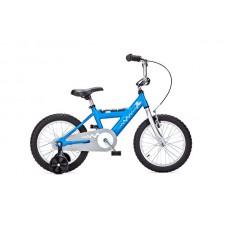 Детский двухколесный велосипед PIDAPI 16 Blue рама алюминий Yedoo