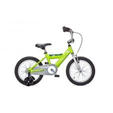Детский двухколесный велосипед PIDAPI 16 Green рама алюминий Yedoo