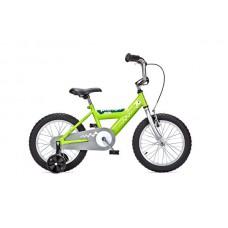 Детский двухколесный велосипед PIDAPI 16 Green рама сталь Yedoo