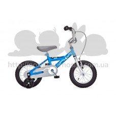 Детский двухколесный велосипед PIDAPI 12 Blue рама сталь Yedoo