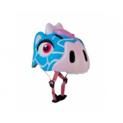 Детский шлем Crazy Safety Жираф голубой 2-7 лет c фонариком S
