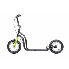 Самокат Yedoo OX New черный-зеленый
