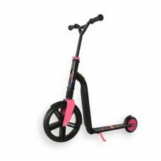 Самокат беговел Scoot and Ride 2в1 Highway ganster черный-розовый