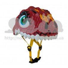 Детский шлем Crazy Safety Дракон китайский c фонарем безопасности S