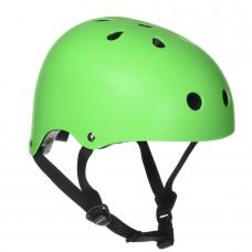 Шлем защитный ролики-самокат размеры M Sfr салатный H159G