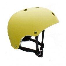 Шлем защитный ролики-самокат размеры S-M Sfr желтый H159Y