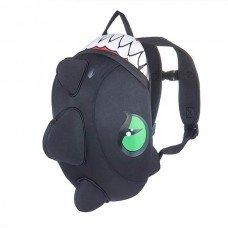 Рюкзак детский Crazy Safety Dinosaur Black неопреновый 33-25 см
