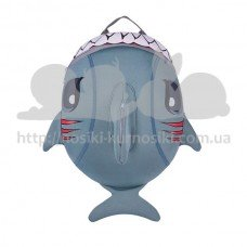 Рюкзак детский Crazy Safety Shark Grey неопреновый 33-25 см