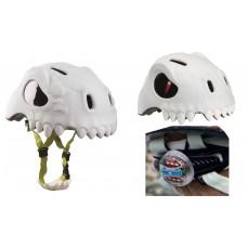 Шлем детский Дикий Череп с задним фонариком