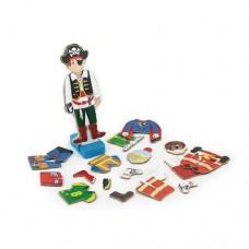 Игровой набор Viga Toys Гардероб мальчика 50021