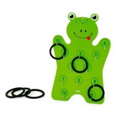 Игровой набор Viga Toys Лягушонок с кольцами 50661