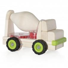 Игрушка Guidecraft Block Science Trucks Большая бетономешалка G7530