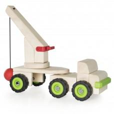 Игрушка Guidecraft Block Science Trucks Большая стенобитная машина G7533
