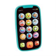 Игрушка Hola Toys Мой первый смартфон 3127-blue