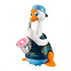 Игрушка музыкальная Hola Toys Гусь-саксофонист синий 6111-blue