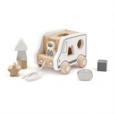 Каталка Viga Toys Машинка-сортер 51612