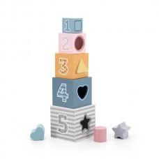 Кубики Viga Toys PolarB Сортируем и складываем 44016