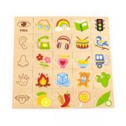Набор для обучения НУШ Viga Toys Изучаем чувства 44507