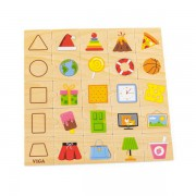 Набор для обучения НУШ Viga Toys Изучаем формы 44506