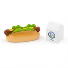 Набор кулинара Viga Toys Хот-дог и молоко 51601
