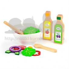 Набор кулинара Viga Toys Наггетсы картошка фри и сок 51603
