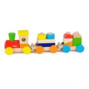 Транспорт Viga Toys Цветной поезд 51610